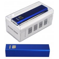 BLUE POWER BANK 2600mAH