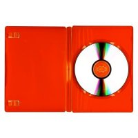DVD PP CASE RED SINGLE
