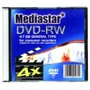 MEDIASTAR DVD-RW 4x SINGLE