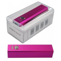 RED POWER BANK 2600mAH