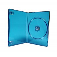 DVD PP CASE BLUE SINGLE M LOCK